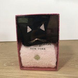 Kate Spade Cat Softee gift set 2 sock